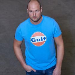 T-shirt GULF Dry-T bleu...