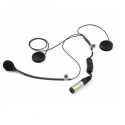 Micro + écouteurs casque...